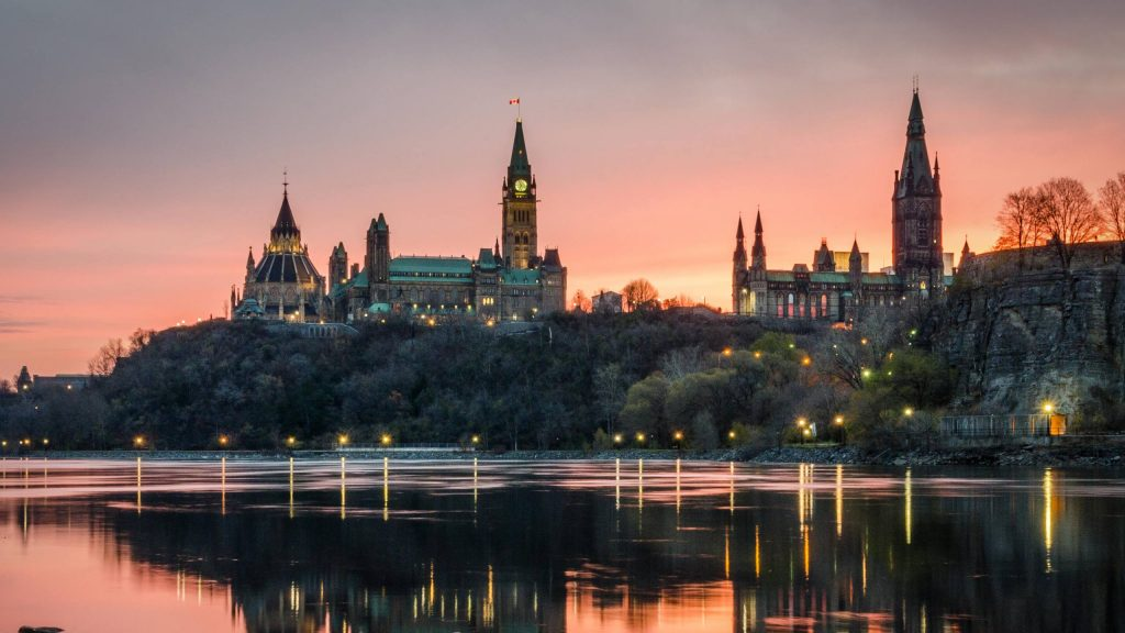 picture of Ottawa skyline